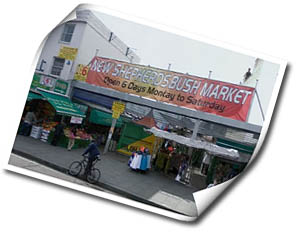 Photo of Shepherds Bush Market in London